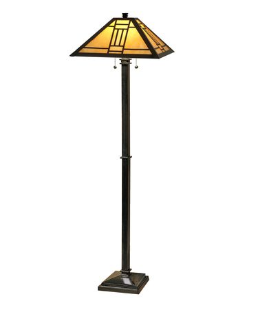 Shown in Mica Bronze finish and Art Glass shade