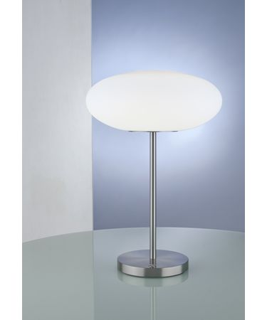 Shown in Satin Nickel finish and Satin White glass