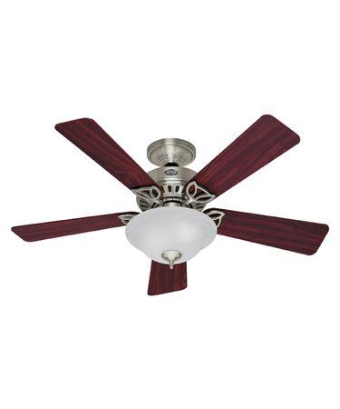 Hunter Fan 28035 Auberville 44 Inch Ceiling Fan With Light