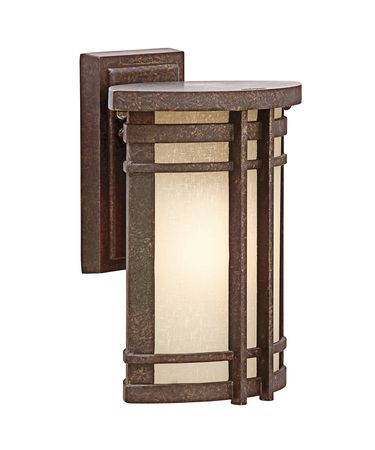 Kichler 49319 Crosett 1 Light Outdoor Wall Light