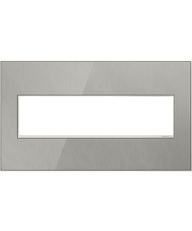 Shown in Brushed Stainless finish