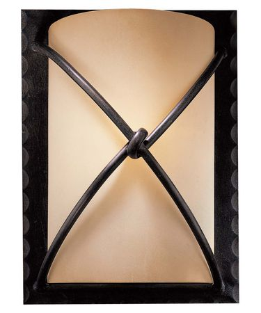 Shown in Aspen Bronze finish and Rustic Scavo glass