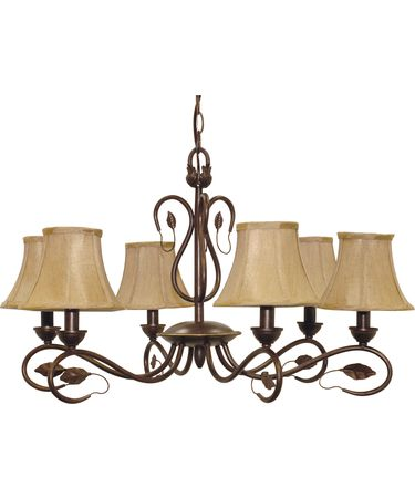Nuvo Lighting 60-1168 Vine 28 Inch Chandelier