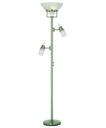 Pacific Coast Lighting 85-3828-99 Techno Chic 72 Inch Torchiere Lamp