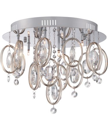 Shown in Polished Chrome finish and Opal Etched glass