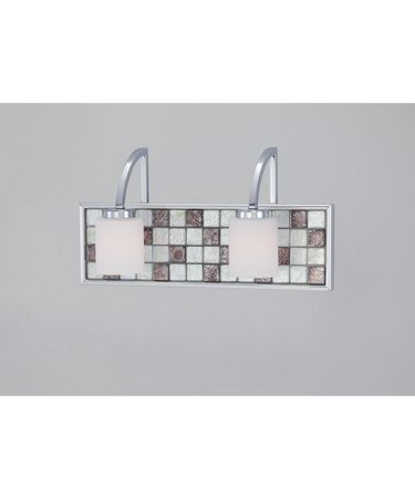 Quoizel VTRT8602 Vetreo Retro 15 Inch Bath Vanity Light