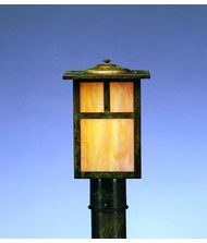Arroyo Craftsman MP-7 Mission 1 Light Outdoor Post Lamp