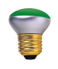 Bulbrite 40R14G 40 Watt 120 Volt Green Incadescent Bulb