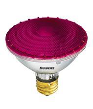 Bulbrite H75PAR30P 75 Watt 120 Volt Pink PAR30 Halogen Short Neck Bulb