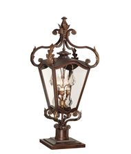 Corbett Lighting 75-82 St Tropez 3 Light Outdoor Pier Lamp