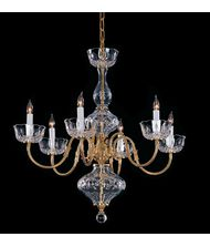 Crystorama 4206 Colonial  25 Inch Chandelier