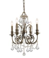Crystorama 5114 Regis 18 Inch Mini Chandelier