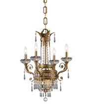 Crystorama 5154 Regal 20 Inch Mini Chandelier