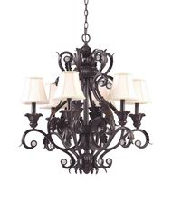 Crystorama 6816 Winslow 28 Inch Chandelier