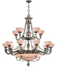 Crystorama 960 Natural Alabaster 48 Inch Chandelier