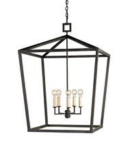 Currey and Company 9871 Denison 32 Inch Foyer Pendant
