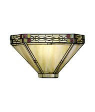 Dale Tiffany 8676-1LTW Mission 14 Inch Wall Sconce