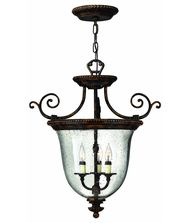 Hinkley Lighting 3713 Rockford 21 Inch Foyer Pendant