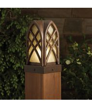 Kichler 15479 Cathedral 1 Light Outdoor Pier Lamp