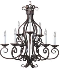 Maxim Lighting 12216 Manor 29 Inch Chandelier