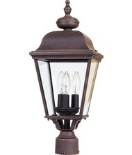 Maxim Lighting 3008 Builder Cast 1 Light Outdoor Post Lamp