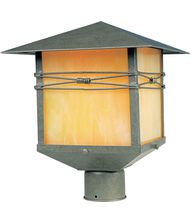 Maxim Lighting 8044 Taliesin 1 Light Outdoor Post Lamp