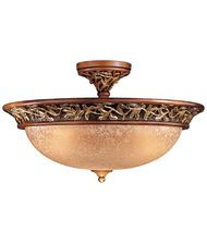 Minka Lavery 1567 Salon Grand 23 Inch Semi Flush Mount