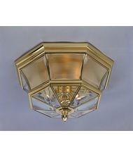 Quoizel NY1794 Newbury 3 Light Outdoor Flush Mount