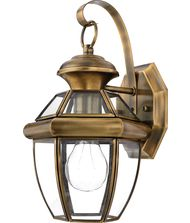 Quoizel NY8315 Newbury 1 Light Outdoor Wall Light