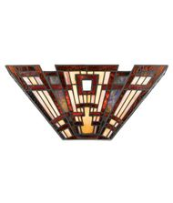 Quoizel TFCC8802 Classic Craftsman 17 Inch Wall Sconce
