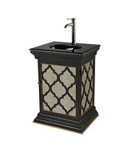 Sterling Industries 88-9013 Mirrored Vanity Unit With Moorsih Pattern